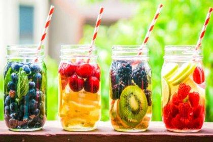 Yaz sıcaklarında spor sonrası meyve suyunu ihmal etmeyin