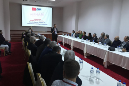 Yerel seçimler öncesi CHP'de sandık güvenliği eğitimleri başladı