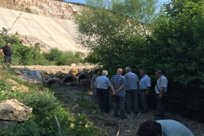 Yeşildere Barajı'nın bitirilememesi nedeniyle çiftçi 70 milyon lira zarar etti