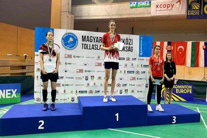 Yonex Macaristan Uluslararası Badminton Şampiyonası'nda 2 madalya