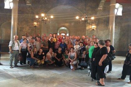 Yunan turistlerden Uzunköprü'ye ziyaret