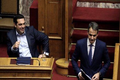 Yunanistan'da seçimi Miçotakis kazandı