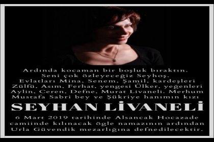 Livaneli ailesinin acı günü: Seyhan Livaneli hayatını kaybetti