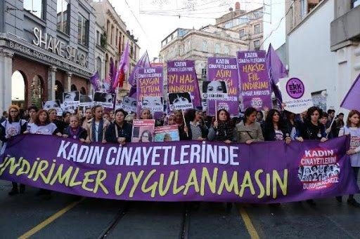 10 ayda 453 kadın öldürüldü