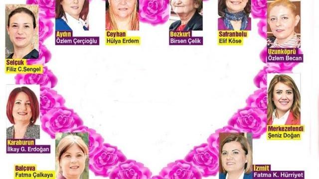 10 kadın belediye başkanından 'Anneler Günü' mesajı
