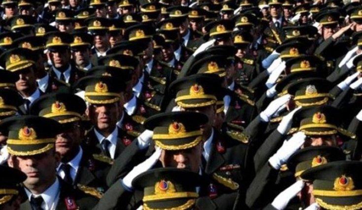 127 general ve amiralin atamaları Resmi Gazete'de yayımlandı