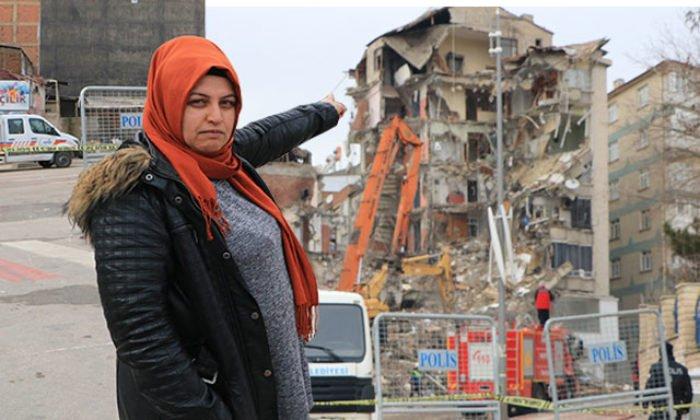 2 hafta önce taşındığı evi depremde hasar gördü: Evi aldığım kişi çok sağlam demişti, ne yazık ki öyle çıkmadı