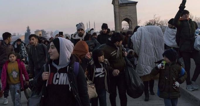 AB sınır koruma ajansının raporu: Yunanistan'a Türkiye'den kitlesel bir göç akını olabilir