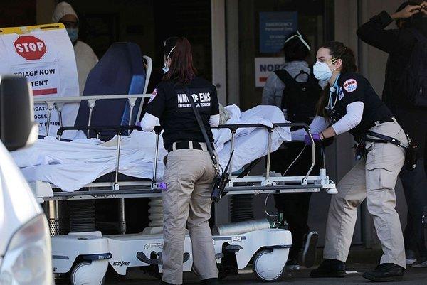 ABD'de bir günde bin 339 kişi öldü, 30 bin yeni vaka tespit edildi