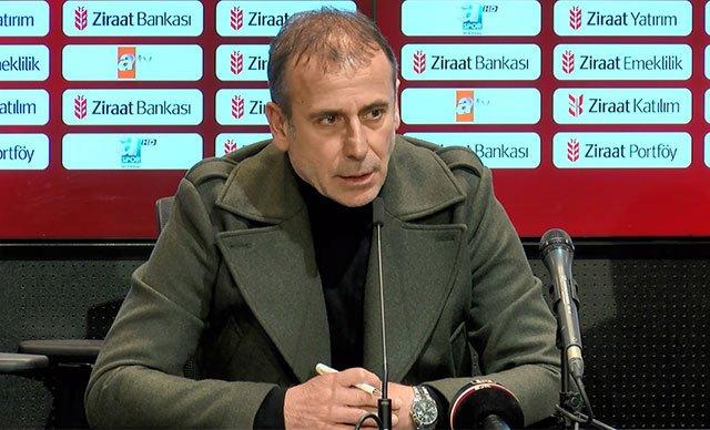 Abdullah Avcı: Bizim ayağımıza top değmeden 4 dakikada bir alt lig takımından 2 gol yemek üzüntü verici