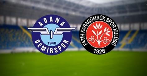 Adana Demirspor ile Karagümrük, TFF 1. Lig play-off finali için karşı karşıya gelecek