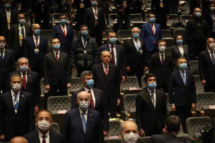 """AKP Genel Başkanı ve Cumhurbaşkanı Erdoğan, """"Demokrasi ve Özgürlükler Adası"""" açılış öncesinde de MHP Genel Başkanı Bahçeli ile adayı gezdi"""