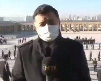 Anıtkabir'de gazetecilere canlı yayın yasağı