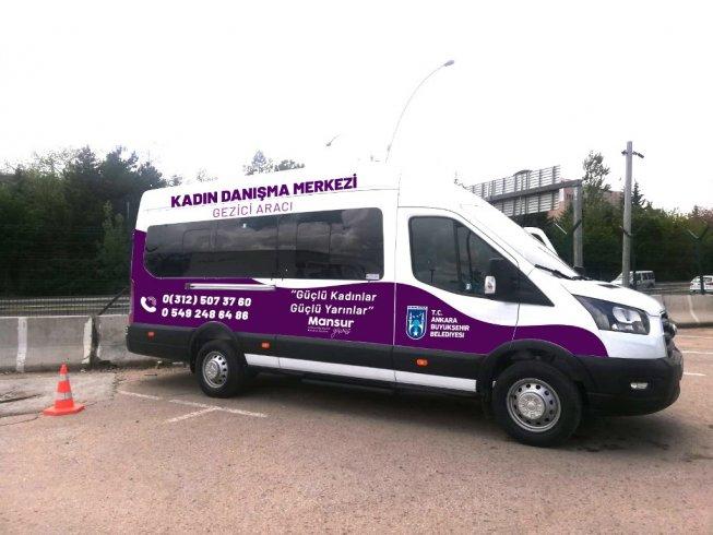 Ankara Büyükşehir Belediyesi'den kadın sağlığı için 'gezici araç' hizmeti