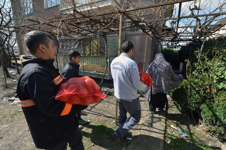 Ankara Büyükşehir Belediyesi'nden ihtiyaç sahibi ailelere sosyal destek