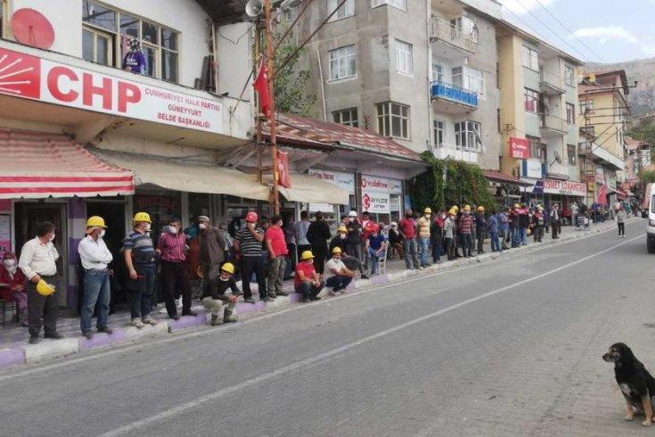 Ankara yürüyüşleri engellenen Somalı madenciler: Artık korkmuyoruz!