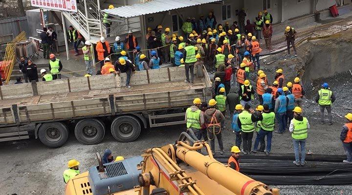 Ankara'da hızlı tren projesi inşaatında çalışan 300 işçi karantinada