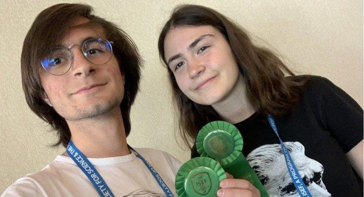 Arda Mavi ve Zeynep Dikle projeleriyle TÜBİTAK'ta 1., ABD'de 4. oldular: Yurt dışından davet alan gençler burs bulamadıkları için gidemiyorlar