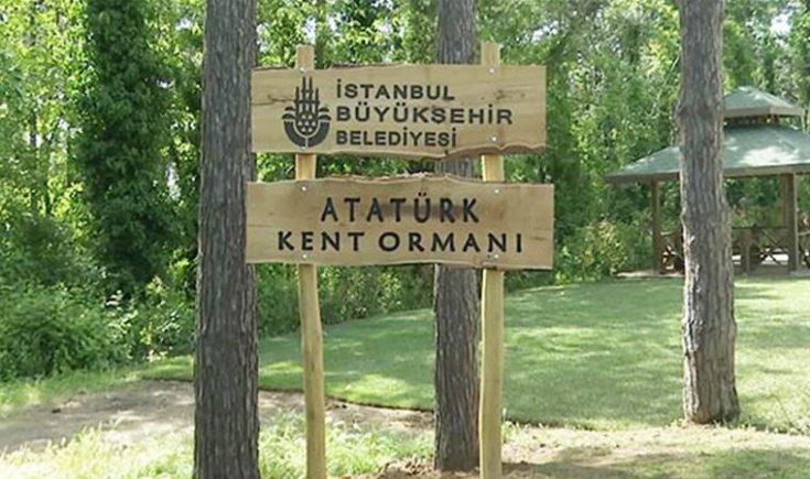 Atatürk Kent Ormanı dünyanın en iyi 5 parkından biri seçildi