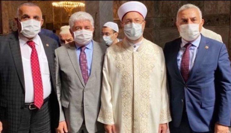 Ayasofya'ya giden bir AKP'li vekilin daha koronavirüs testi pozitif çıktı