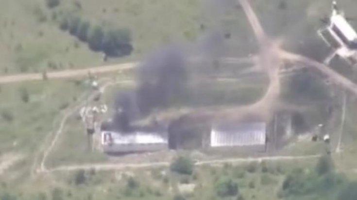 Azerbaycan: Ermenistan'a ait bir müstahkem mevkiyi vurduk
