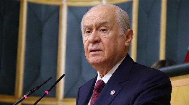 Bahçeli: Rusya'nın Türkiye'ye karşı Suriye'nin arkasında durması akla ziyandır