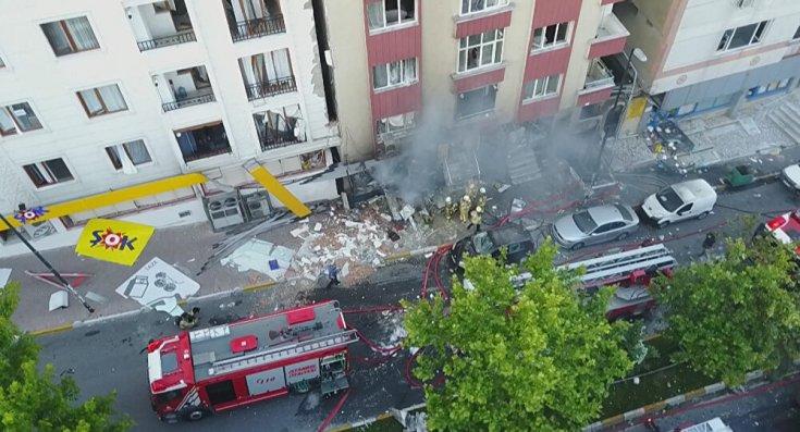 Bahçelievler'de tekstil atölyesinde patlama: 1 kişi öldü, 10 kişi yaralandı