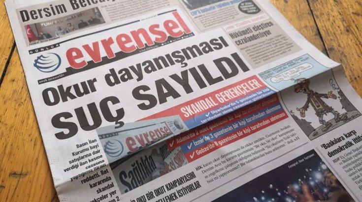 Basın İlan Kurumu, üçten fazla Evrensel gazetesi alınmasını suç saydı!