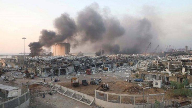 Beyrut'taki patlamada ölü sayısı 154'e yükseldi