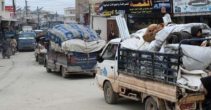 BM: İdlib'den kaçanların sayısı 800 bini geçti