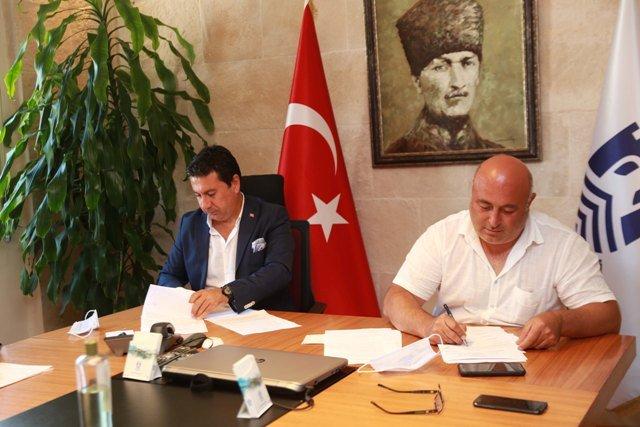 Bodrum Belediyesi'nde toplu iş sözleşmesi imzalandı