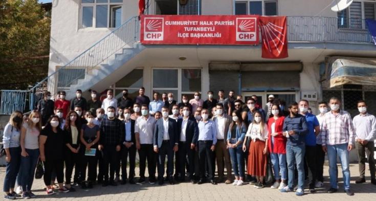 CHP Adana İl Gençlik Kolları'ndan esnaf ziyareti