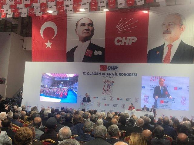 CHP Adana il Örgütü yeni yönetimini belirliyor