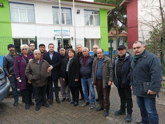 CHP Balıkesir Karesi ilçe örgütünden Ece Amca Yaşlılar Bakımevi'ne ziyaret