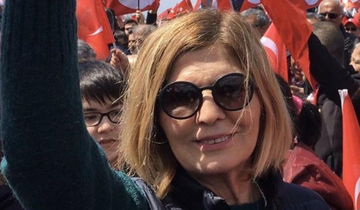 CHP Kadıköy Kadın Kolu yöneticisi Ayşe Kaya koronavirüs nedeniyle yaşamını yitirdi