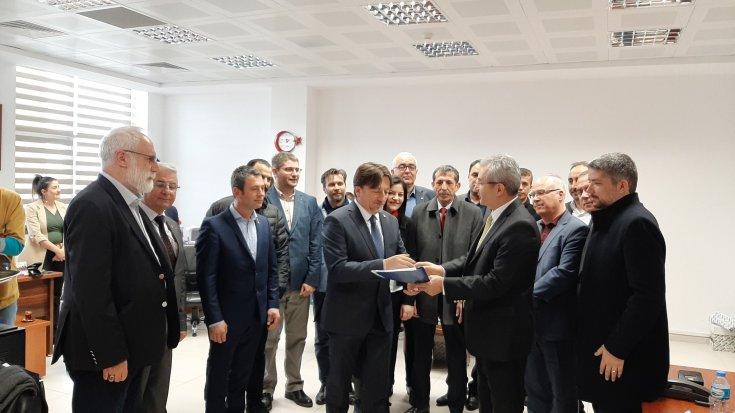 CHP Kırklareli İl Başkanı Alaaddin Güncer görevi devraldı