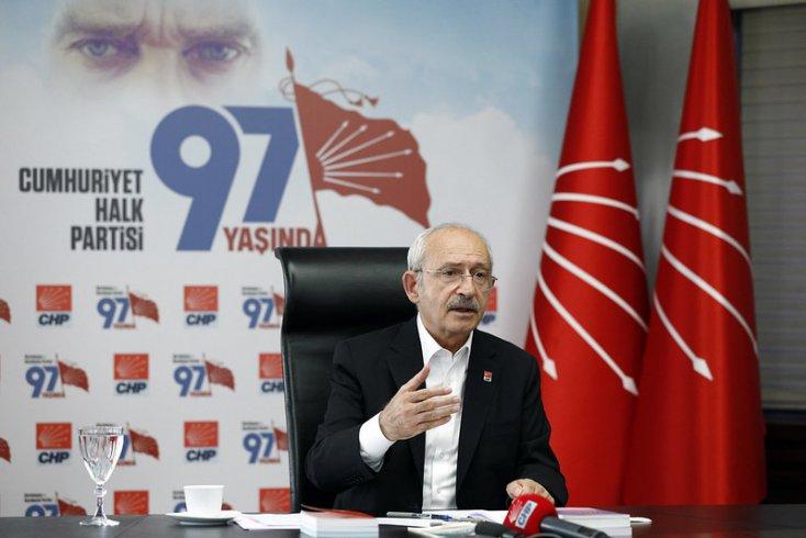 CHP Lideri Kılıçdaroğlu, SMA Hastaları ve hasta yakınları ile görüştü