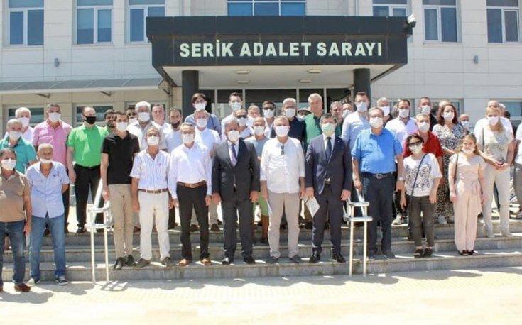 CHP Serik'teki rüşvet skandalıyla ilgili suç duyurusunda bulundu