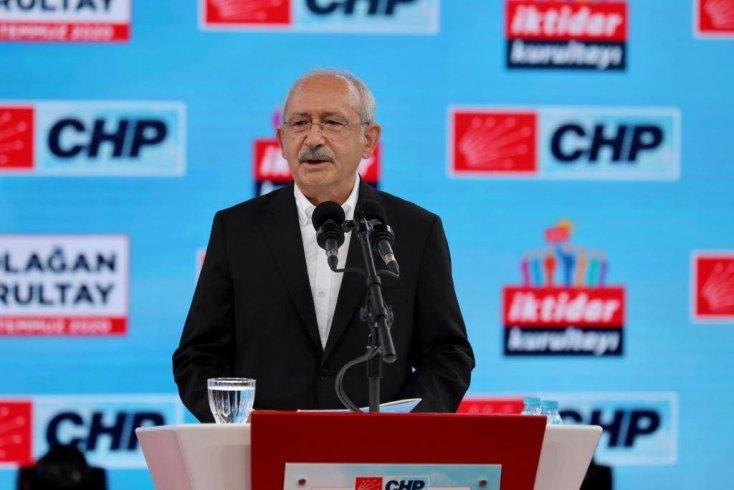 CHP'nin 37. Olağan Kurultayı'nda Kılıçdaroğlu tek aday