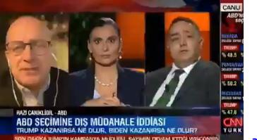 Cnn Türk canlı yayınında kavga... Razi Canikligil'den Zafer Şahin'e: Sen aptal adamın tekisin