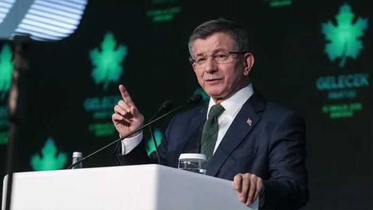 Davutoğlu: Adaletsizliğin, yasakçılığın, baskının sorumlusu Erdoğan'dır