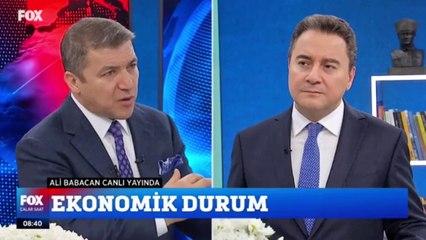 Deva Partisi Genel Başkanı Ali Babacan, FOX TV'de İsmail Küçükkaya'ya konuk olacak