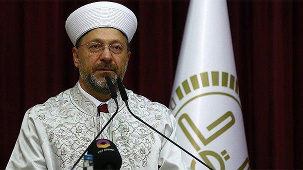 Diyanet İşleri Başkanı Erbaş'tan subaylara 'ümmet güvenliği' brifingi!