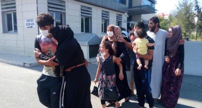Elektrik akımına kapılan Suriyeli işçi hayatını kaybetti