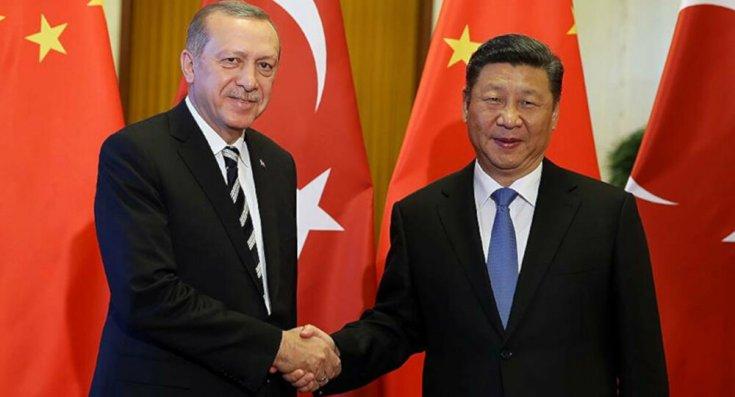 Erdoğan, Çin Devlet Başkanı ile görüştü!