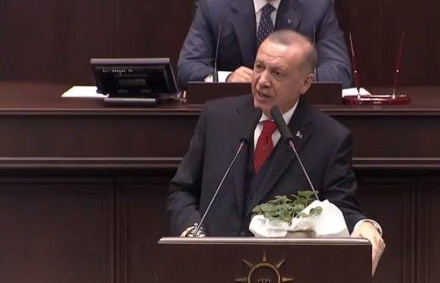 Erdoğan: Darbeci Hafter kalktı, masada yalan darbe yaparak Moskova'yı terk etti