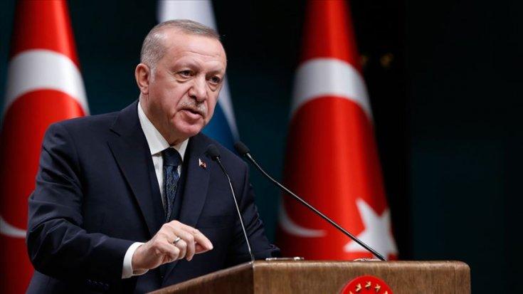 Erdoğan: Yatırımlarda herhangi bir durma söz konusu değil