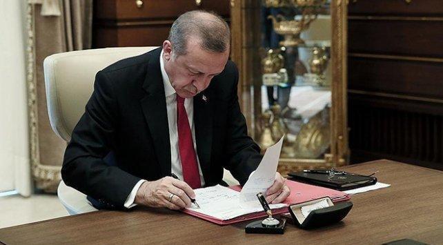 Erdoğan'dan bazı kamu kurum ve kuruluşlarına atama