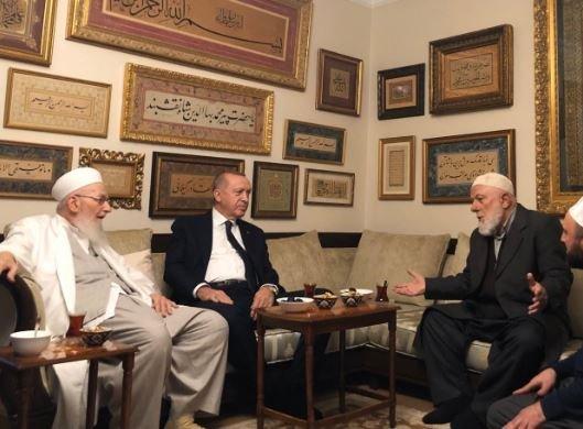 Erdoğan'dan İsmailağa Cemaati'ne ziyaret