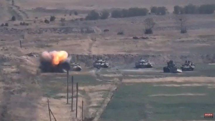 Ermenistan Türkiye'yi Dağlık Karabağ'daki çatışmalarda Azerbaycan'a askeri destek vermekle suçladı